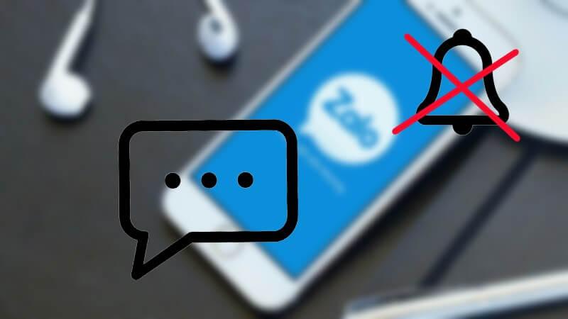 Hướng dẫn cách tắt thông báo tin nhắn Zalo trên máy tính và điện thoại